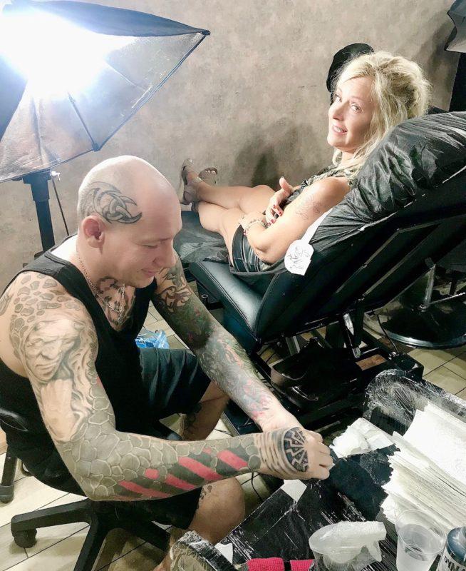 tatovering tattto woman