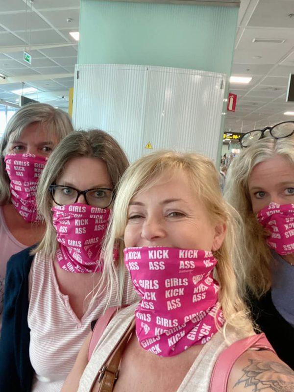 Coronaviruset lockdown Spania munnbind